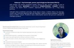 Adiuta.pl – Psychoterapia w Warszawie  (Włochy i Centrum)